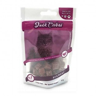 NATURALISTIC DUCK CUBES FOR CATS 12 UNIDADES